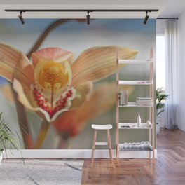 orchid flower ready to fly Wall Mural