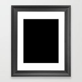 Nerdy, Dirty, and Curvy Framed Art Print