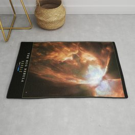 NASA Hubble Space Telescope Poster - The Bug Nebula Rug
