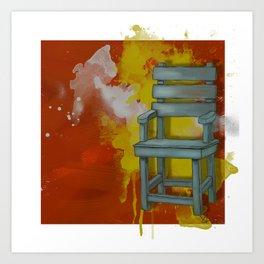 Still A Chair Art Print