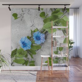 Floral Sand Wall Mural