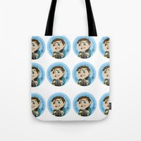 borderlands Tote Bags featuring Borderlands - Rhys by Tarn