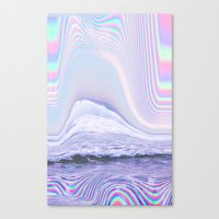 hologram Canvas Prints featuring Hologram by Claudia