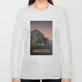 Saguenay Fjord Provincial Park Long Sleeve T-shirt