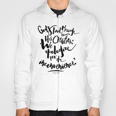 God's Final Message book quote design Hoody