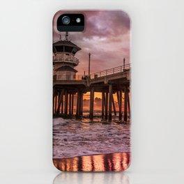 Dramatic Sundown iPhone Case