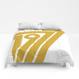 Awesome Since 1977 Comforters