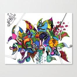 Eccentric ConcentricCircles Canvas Print