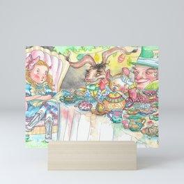 Alice's Mad Tea Party Mini Art Print