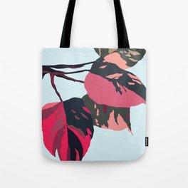 Philodendron pink princess Tote Bag
