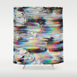 Spectral Wind Erosion Shower Curtain