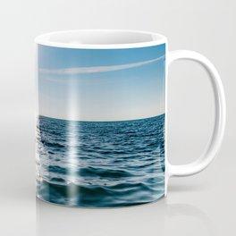 Sea Blue Sky sun Coffee Mug