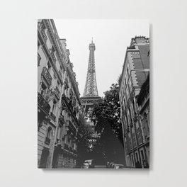 Paris III Metal Print