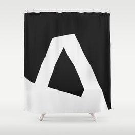 """A"" Statement Shower Curtain"