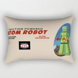 Atom The Toy Robot Rectangular Pillow