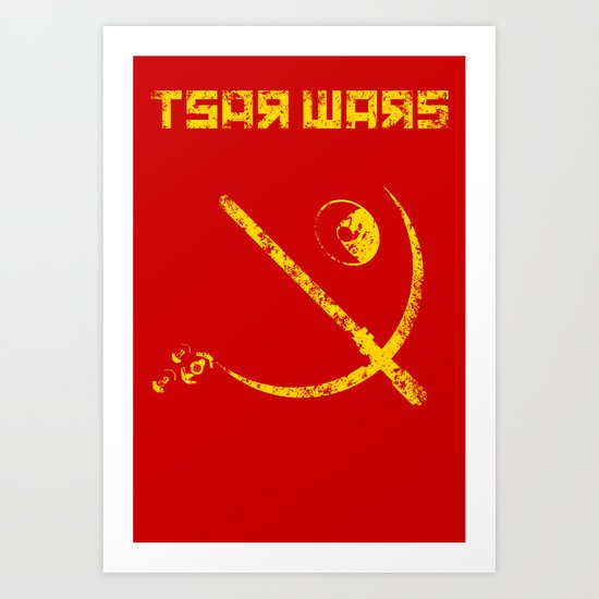 Tsar Wars Art Print