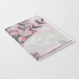 Pops of Hot Pink Florals Notebook