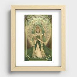 Ladies of Tarot - The Hermit Recessed Framed Print
