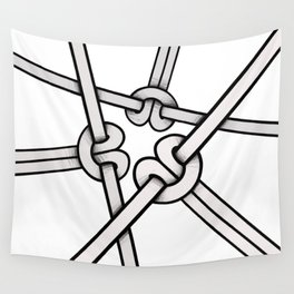 knots tied Wall Tapestry