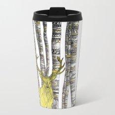 The Golden Stag Metal Travel Mug