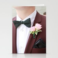 suit Stationery Cards featuring Suit by Naya Joyce