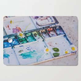 Watercolor Cutting Board