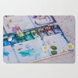 Watercolor Cutting Board