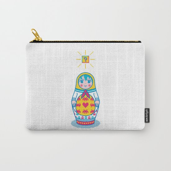 Cultural Exchange Carry-All Pouch