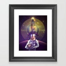 Rocketman Framed Art Print