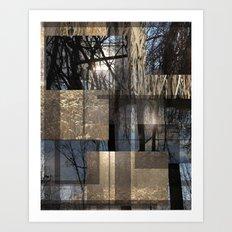 Sun Forest Art Print