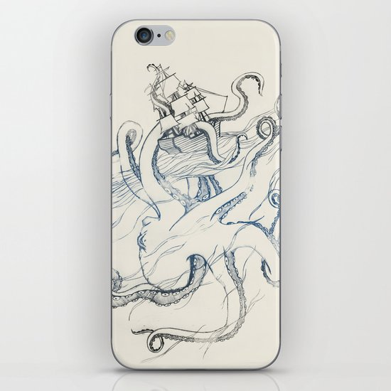 Kraken iPhone & iPod Skin