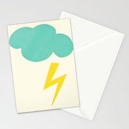 Lightning Strike Stationery Cards