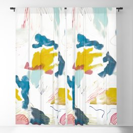 pattern abstract shapes Blackout Curtain