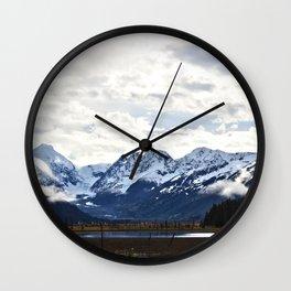 Beautiful Alaska Wall Clock
