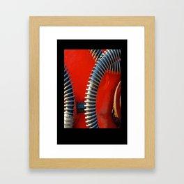 Hydraulics Framed Art Print
