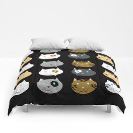 Cats Cats Cats Comforters