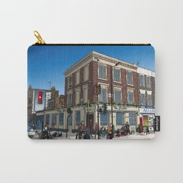 London Blue Sky Carry-All Pouch