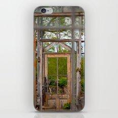 Thru Times Window iPhone & iPod Skin