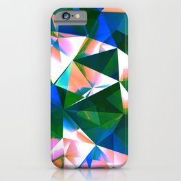 Polygon Abstract Art / GFTPolygon003 iPhone Case