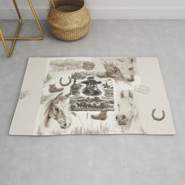 Country Western Rug