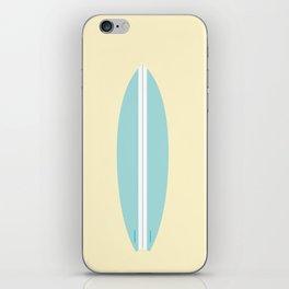 #91 Surfboard iPhone Skin