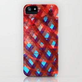 Untitled (CrossHatch) iPhone Case