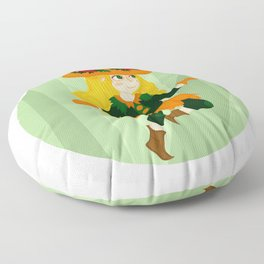 The Little Witch Floor Pillow
