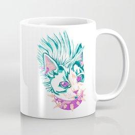 Punk Cat Coffee Mug