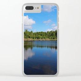 Gator Lake II Clear iPhone Case