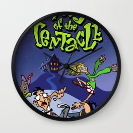 Day Of The Tentacle Art Wall Clock