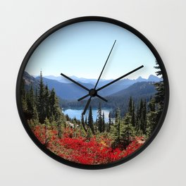 Autumn in the PNW Wall Clock