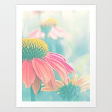 THE HEART OF SUMMER Art Print