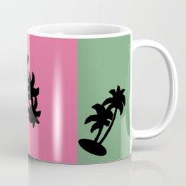 90s Palm Tree Vibe Coffee Mug
