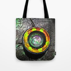 Camera Lens In The Wild Tote Bag